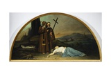 Lunette of Plague Giclee Print by Silvestro Lega