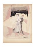 Dancers Giclee-trykk av Charles Demuth