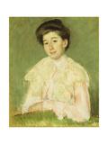 Portrait of a Lady, C.1890 Giclee Print by Mary Stevenson Cassatt