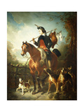 The Young Gamekeeper Giclee Print by Alfred Dedreux