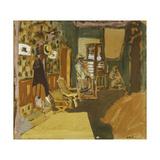 Mme Hessel in the Hallway, C.1909 Giclee Print by Edouard Vuillard