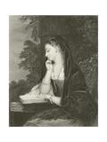 Maiden Meditation Giclee Print by Gilbert Stuart Newton
