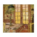 Madame Vuillard in the Dining Room, 1919-25 Giclee Print by Edouard Vuillard