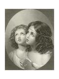 Thankful Children Giclee Print by Thomas Uwins