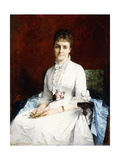 Portrait of a Lady, 1877 Giclee Print by Henriette Browne