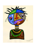 The Bold Face of Time, 2013 Giclee Print by Oglafa Ebitari Perrin