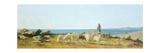 Pasture in Castiglioncello Giclee Print by Odoardo Borrani
