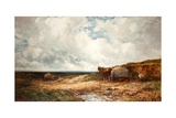 Carting Gravel Giclee Print by Edmund Morison Wimperis