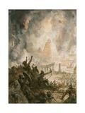 Babylon Overrun by the Medes and the Persians Giclee Print by Henry Coller