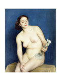 Nellie and Phryne Giclee Print by William McGregor Paxton