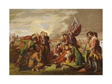 Death of Wolfe Giclee Print by Benjamin West