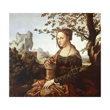 Mary Magdalene Giclee Print by Jan van Scorel
