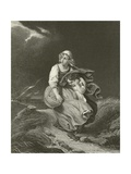 The Storm Giclee Print by Hippolyte Delaroche
