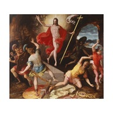 Resurrection of Christ Giclee Print by Antoine Caron