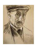 Self-Portrait, 1923 Giclee Print by Lovis Corinth