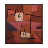 View from Red, 1937 Giclee Print by Paul Klee
