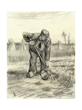 Potato Gatherer, 1885 Giclee Print by Vincent van Gogh
