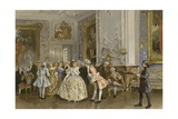 Dutch Salon, Mid 18th Century Giclee Print by Willem II Steelink
