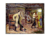 The Return of Tobias Giclee Print by Max Liebermann