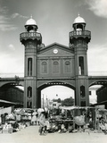 Iron Market in Port-Au-Prince, 1959 Photographic Print
