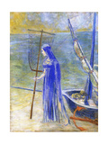 The Fisherwoman, 1900 Giclee Print by Odilon Redon