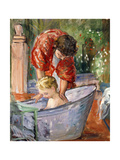 The Bath; Le Bain Giclee Print by Henri Lebasque