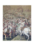 Capture of the Porto Ercole, 1555-72 Giclee Print by Giorgio Vasari
