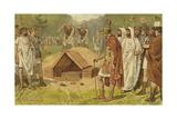 Roman Burial Giclee Print by Willem II Steelink