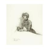 Seated Woman, C.1887 Lámina giclée por Henri de Toulouse-Lautrec