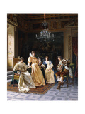 An Amusing Song Giclee Print by Vittorio Reggianini