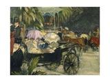 Music at Pincio Hill, 1913 Giclee Print by Armando Spadini