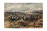 Crusaders on the March Giclee Print by Sir John Gilbert