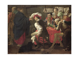 The Calling of St. Matthew, C.1620 Giclee Print by Hendrick Terbrugghen