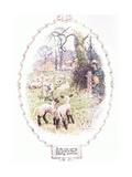 In the Very Spring of their Tottering Prettiness Giclee Print by Charles Edmund Brock