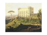 Villa Ruffo in Capodimonte Giclee Print by Salvatore Fergola