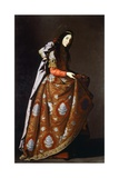 St Casilda, 1630-1635 Giclee Print by Francisco de Zurbaran