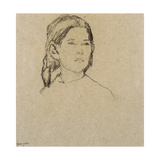 Girl's Head Giclee Print by Gwen John