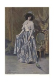 Portrait in Blue Giclee Print by Gabriel Nicolet