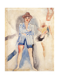 The Striped Blazer Reproduction procédé giclée par Charles Demuth