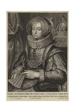 Portrait of the Archduchess Maria of Austria Giclee Print by Sir Anthony van Dyck