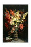 Gladioli, 1924 Giclee Print by Jacques-emile Blanche
