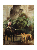 Return to Hunting Giclee Print by Jean Leon Gerome