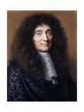 Portrait of Simon Arnauld, Marquis De Pomponne Giclee Print by Robert Nanteuil