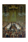 Banquet in the Redoutensaal, Vienna, 1760 Giclee Print by Martin II Mytens or Meytens