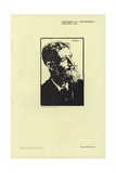 Portrait of George Bernard Shaw Giclee Print by Joseph Simpson