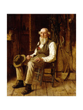 A Moment's Contemplation Giclee Print by John George Brown