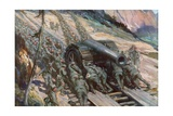 Conquering the Mountains, Italy, World War I Giclee Print by Cyrus Cuneo