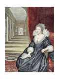 Aletheia, Countess of Arundel Giclée-Druck von George Vertue