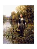 At the Water's Edge Giclee Print by Daniel Ridgway Knight
