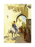 An Arab Scene, 1884-89 Giclee Print by Edwin Lord Weeks
